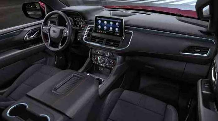 New 2022 Chevrolet Tahoe Interior