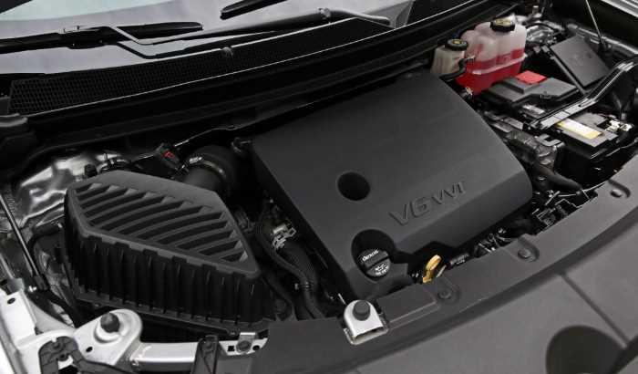New 2022 Chevrolet Traverse Engine