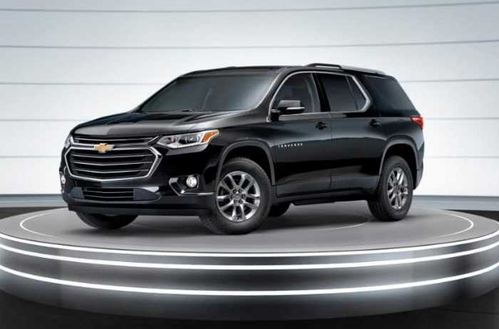 New 2022 Chevrolet Traverse Exterior