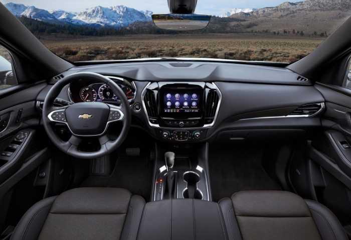 New 2022 Chevrolet Traverse Interior