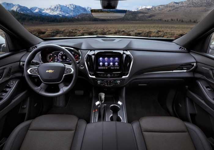 New 2022 Chevrolet Trax Interior