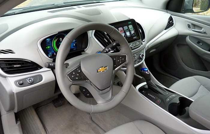 New 2022 Chevrolet Volt Interior