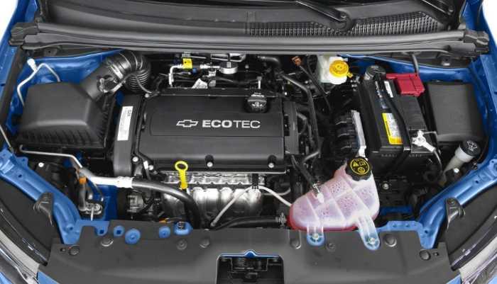 New 2022 Chevy Aveo Engine