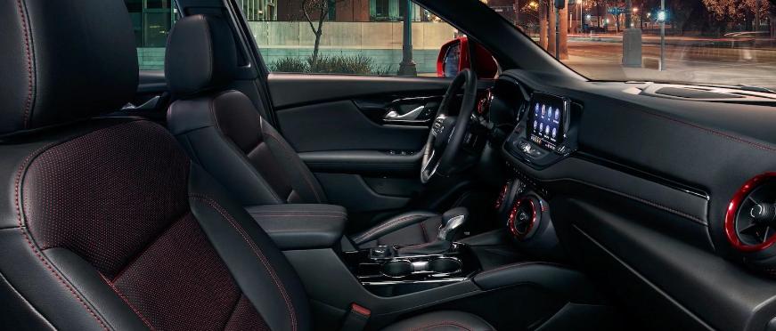 New 2022 Chevy Blazer Interior