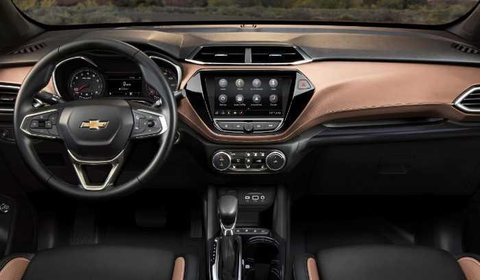 New 2022 Chevy Blazer SS Interior