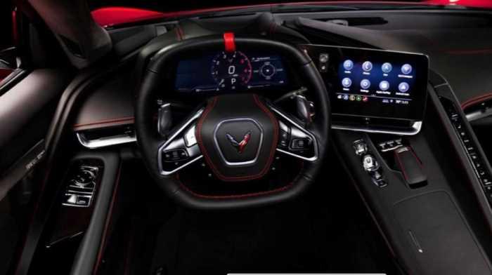 New 2022 Chevy Corvette C6 Interior