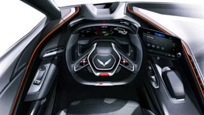 New 2022 Chevy Corvette C6 ZR1 Interior