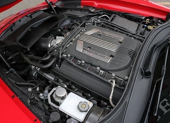 New 2022 Chevy Corvette Engine