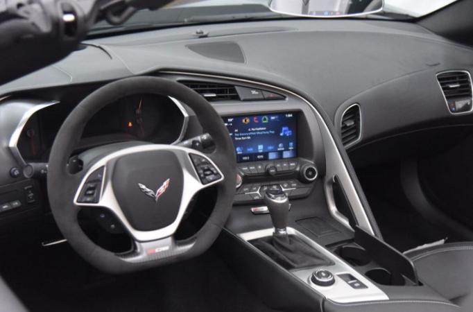 New 2022 Chevy Corvette Interior