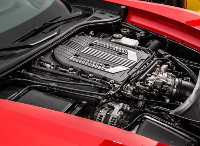 New 2022 Chevy Corvette Z06 Engine