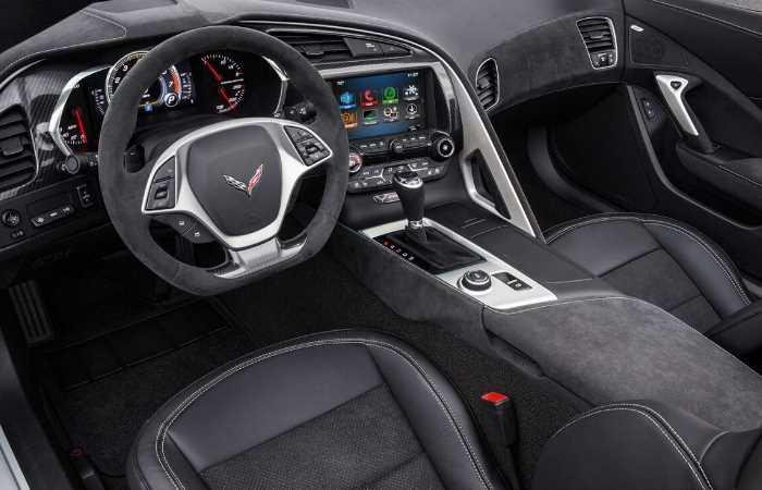 New 2022 Chevy Corvette Z06 Interior