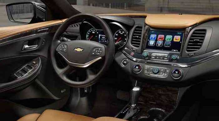 New 2022 Chevy Impala Interior