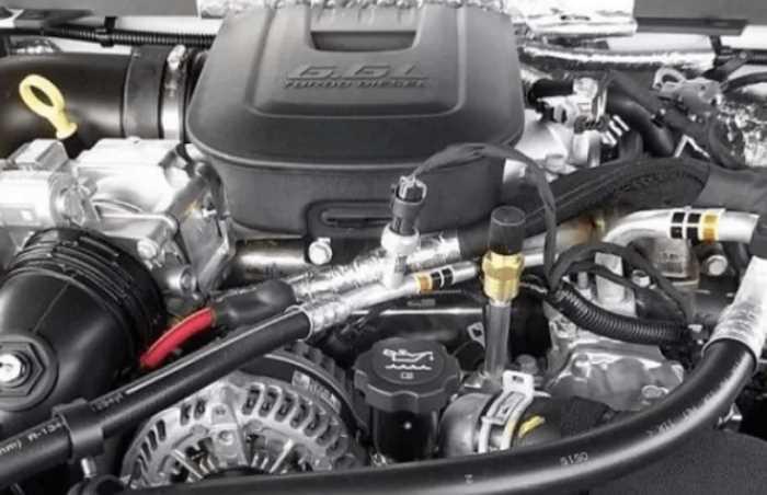 New 2022 Chevy Kodiak Engine