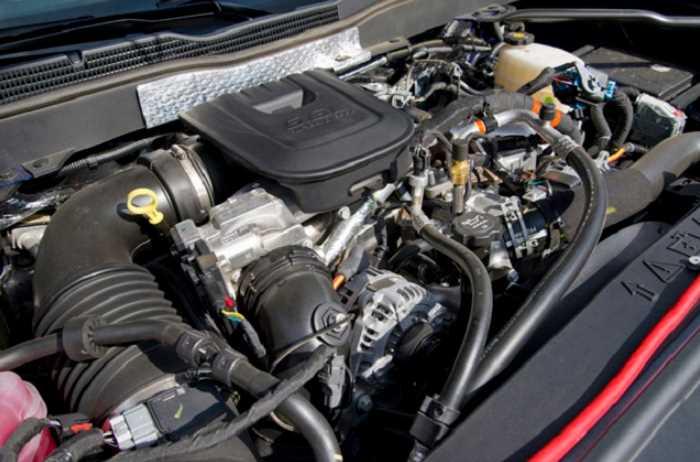 New 2022 Chevy Silverado 2500HD Engine