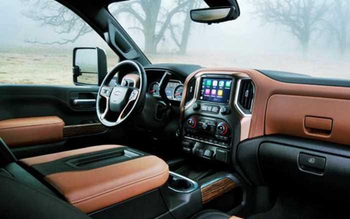 New 2022 Chevy Silverado 3500HD Interior