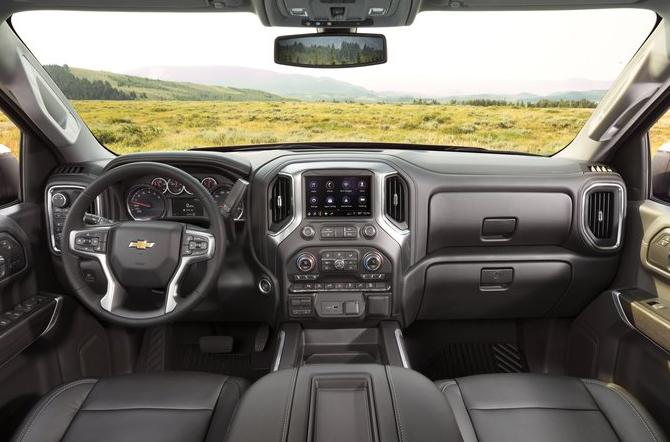 New 2022 Chevy Silverado Interior