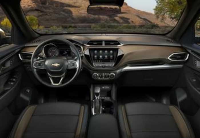 New 2022 Chevy Trailblazer Interior