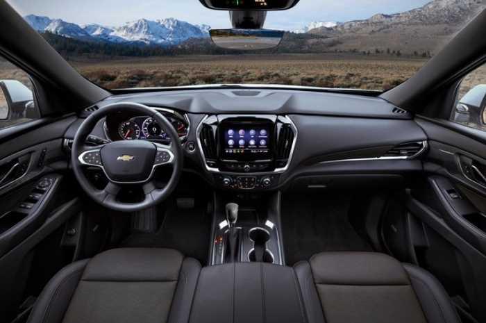 New 2022 Chevy Traverse Interior