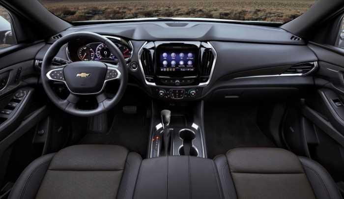 New 2022 Chevy Trax Interior