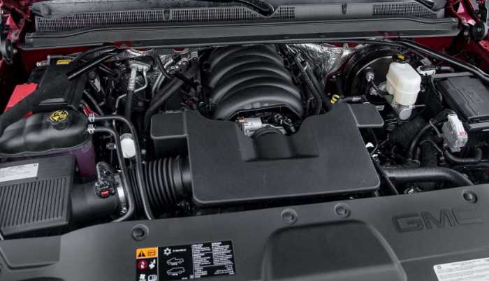 2022 Chevy Tahoe Engine
