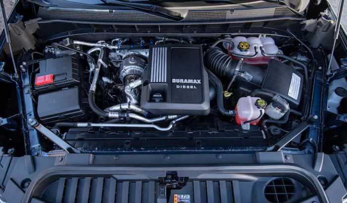 2023 Chevrolet Silverado 2500 Engine