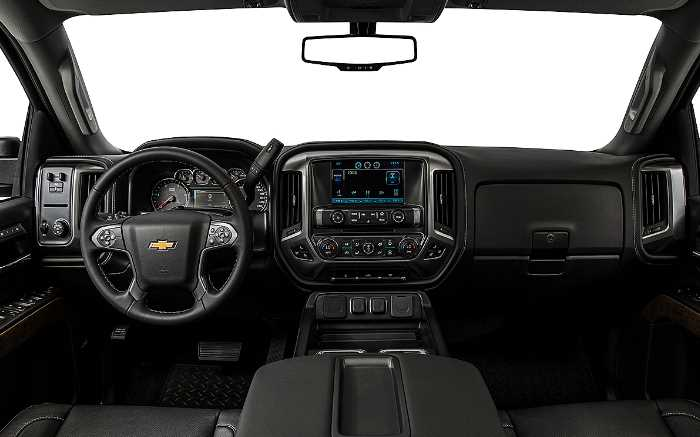 2023 Chevrolet Silverado 3500HD Interior