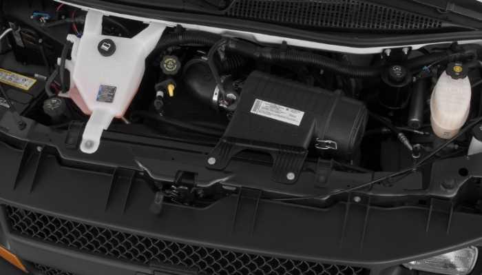 New 2022 Chevrolet Express 3500 Engine