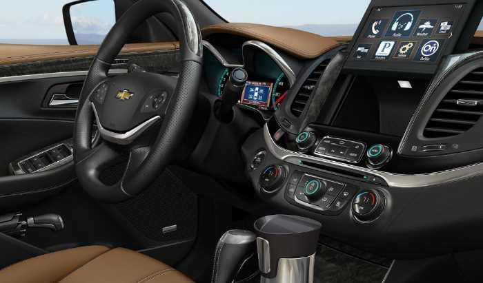 New 2022 Chevrolet Impala SS Interior