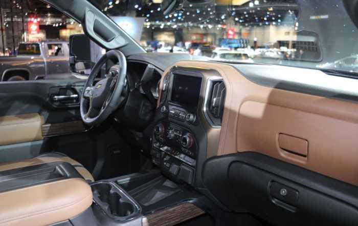 New 2022 Chevrolet Silverado 1500 Interior