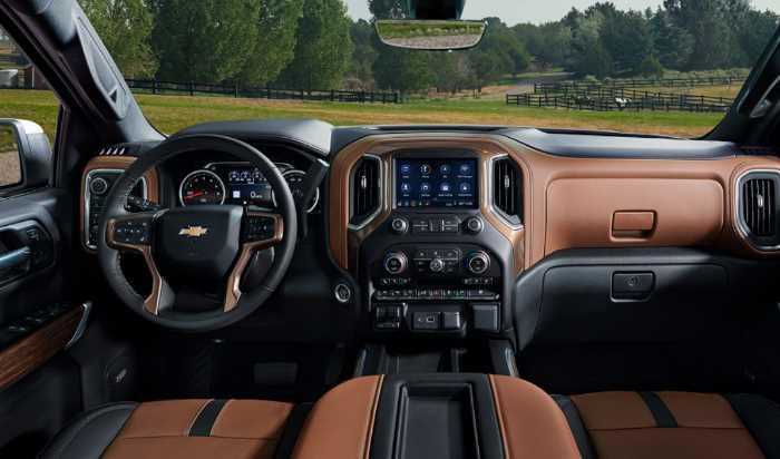 New 2023 Chevrolet Silverado Interior