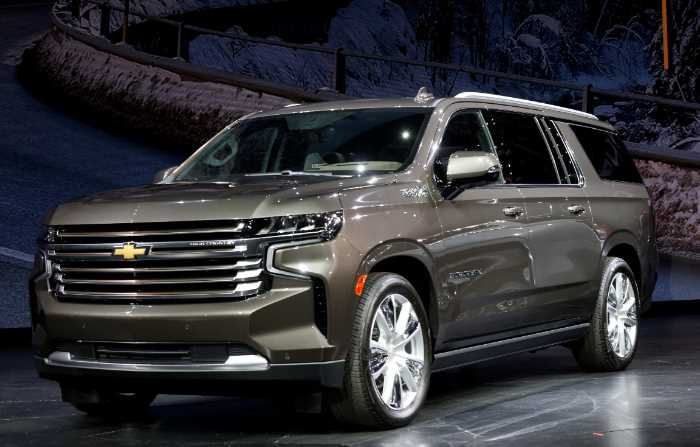 New Chevrolet Suburban 2023 Exterior
