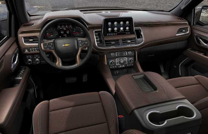 New Chevrolet Suburban 2023 Interior