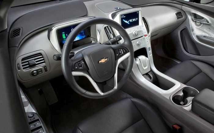 New 2023 Chevrolet Volt Interior