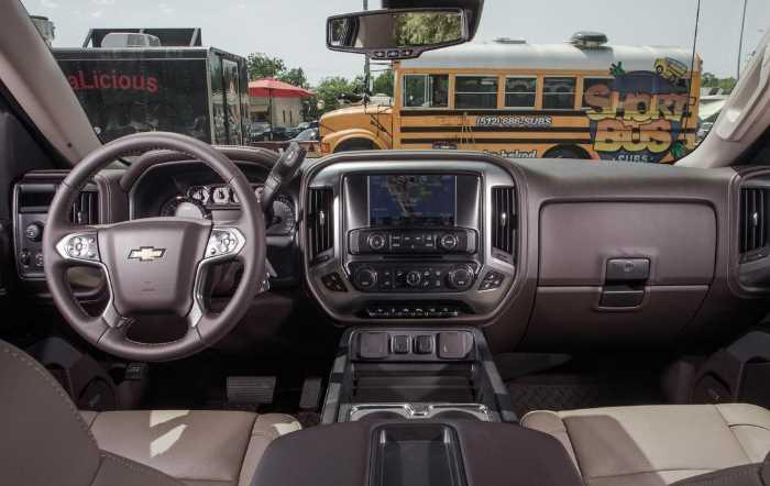 New 2023 Chevy Silverado 1500 Interior