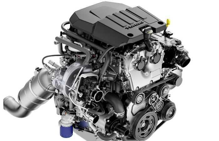 New 2023 Chevy Silverado Engine