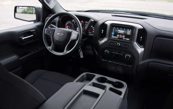 New 2023 Chevy Silverado Interior