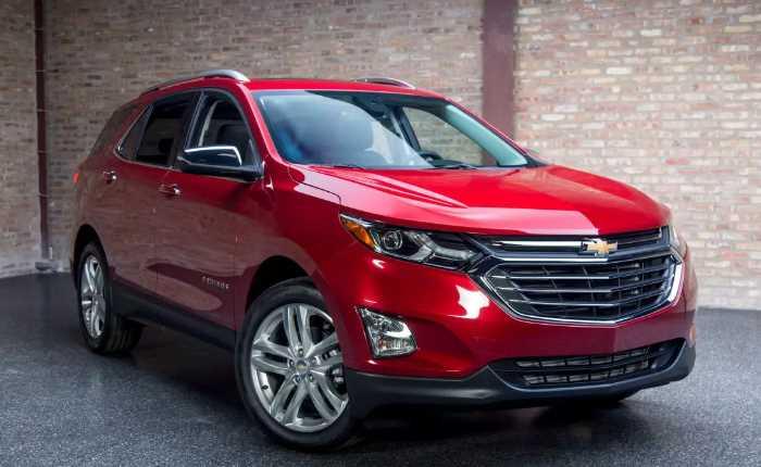 New Chevrolet Equinox 2023 Exterior
