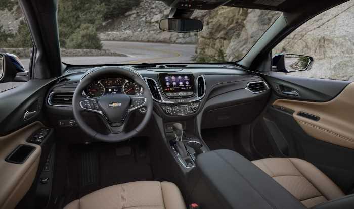 New Chevrolet Equinox 2023 Interior