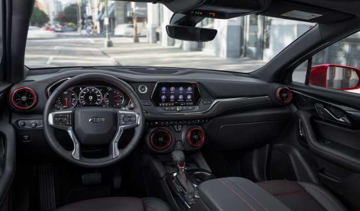 New Chevy Blazer 2023 Interior