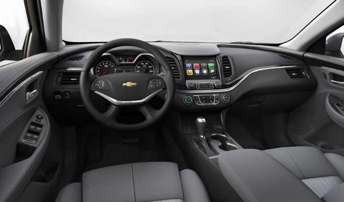 New Chevy Impala 2023 Interior