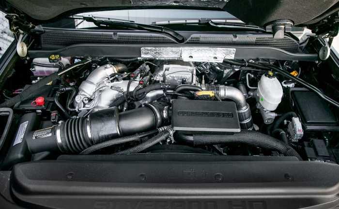 New Chevy Silverado 2023 Engine