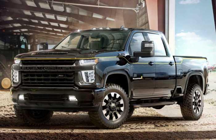 New Chevy Silverado 2023 Exterior