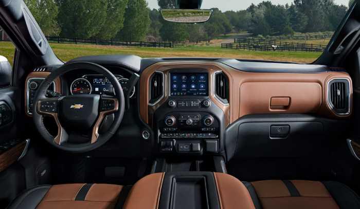 New Chevy Silverado 2023 Interior